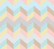 Seamless chevron pattern. Beautiful illustration Royalty Free Stock Images