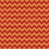 Seamless chevron pattern, autumn orange colors. Vector Stock Photography