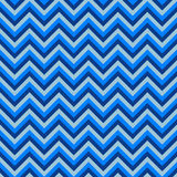 Seamless chevron pattern with blue lines. Vector illustration.  Background for dress, manufacturing, wallpapers, prints, gift wrap Stock Image