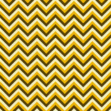Seamless chevron pattern with brown and yellow lines Royalty Free Stock Photos