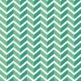 Seamless chevron  pattern. Colorful light and dark green zig zag on white background. Geometric layout. 3D efect. Gift wrapping paper. Bed sheets and interior Royalty Free Stock Photo