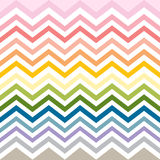 Seamless chevron pattern colorful preppy pink red yellow green Stock Photo