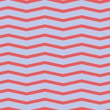 Seamless chevron pattern. Colorful red zig zag on purple background. royalty free stock image