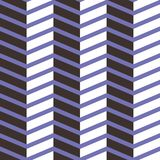 Seamless chevron  pattern. Colorful white, dark purple and on light purple zig zag background. Stock Images