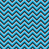 Seamless chevron pattern with dark and light blue lines. Vector illustration.  Background for dress, manufacturing, wallpapers, pr Royalty Free Stock Photo