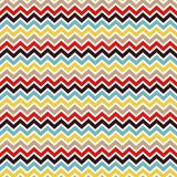 Seamless chevron pattern Stock Photography