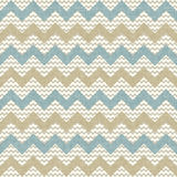 Seamless chevron pattern on linen texture royalty free illustration