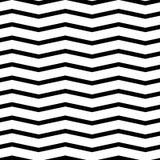Seamless chevron  pattern. Monochrome, black and white zig zag background. Royalty Free Stock Photo