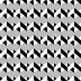 Seamless chevron pattern. Monochrome zig zag on grey background. stock photo