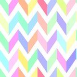 Seamless chevron pattern pastel  Royalty Free Stock Image