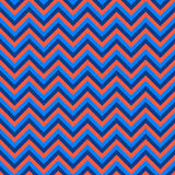 Seamless chevron pattern with pink and blue lines. Vector illustration.  Background for dress, manufacturing, wallpapers, prints Royalty Free Stock Photography