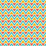 Seamless chevron pattern. Royalty Free Stock Image