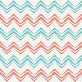 Seamless chevron pattern in retro style. Royalty Free Stock Photo