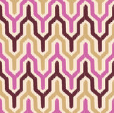 Seamless chevron pattern. With scribble textured effect Vector Illustration