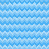 Seamless chevron pattern three blue colors. Vector Royalty Free Stock Images