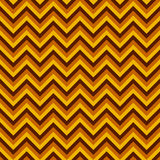 Seamless chevron pattern with yellow and brown lines. Vector illustration.  Background for dress, manufacturing, wallpapers, print Royalty Free Stock Photos
