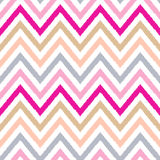 Seamless chevron stripes fabric pattern Royalty Free Stock Images