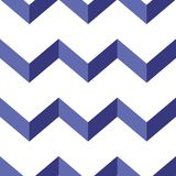Seamless chevron vector pattern. Colorful zig zag background. royalty free stock photography