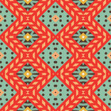 Seamless chevron zig zag pattern background Royalty Free Stock Photography