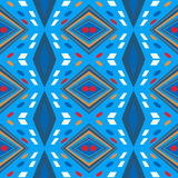Seamless chevron zig zag pattern background Stock Photography