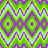 Seamless chevron zig zag pattern background Stock Images