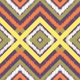 Seamless chevron zig zag pattern background Stock Photography