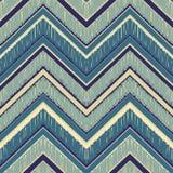 Seamless chevron zig zag pattern background Stock Photo