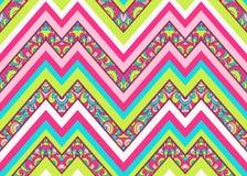 Seamless chevron zig zag pattern background Royalty Free Stock Image