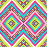 Seamless chevron zig zag pattern background Stock Photo