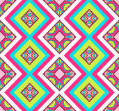 Seamless chevron zig zag pattern background Stock Photos