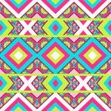 Seamless chevron zig zag pattern background Royalty Free Stock Images