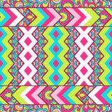 Seamless chevron zig zag pattern background Royalty Free Stock Photos