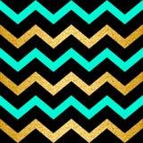 Seamless Chevron Zigzag Pattern Stock Photography