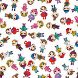 Seamless child pattern Royalty Free Stock Image