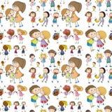 Seamless children Stock Photo