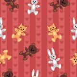 Seamless children\'s background Stock Photo