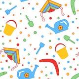 Seamless children's background. Seamless vector illustration. Stock Images