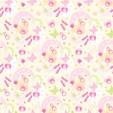 Seamless children's things pattern Stock Image
