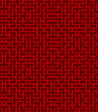Seamless Chinese lattice geometry line pattern background. Stock Photography