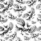 Seamless chinese pattern Royalty Free Stock Photos