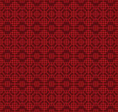 Seamless Chinese style lattice square octagon geometry pattern background. Royalty Free Stock Image