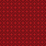 Seamless Chinese style rhomb flower pattern background. Stock Photos