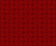 Seamless Chinese style traditional red geometry pattern. Stock Image
