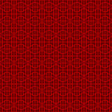 Seamless Chinese window tracery geometry pattern background. Royalty Free Stock Photos