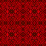 Seamless Chinese window tracery lattice geometry square flower pattern background. Royalty Free Stock Photography