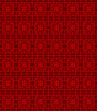 Seamless Chinese window tracery line pattern background. Royalty Free Stock Images