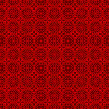 Seamless Chinese window tracery polygon round flower pattern background. Stock Photography
