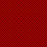 Seamless Chinese window tracery round cross line pattern background. Stock Images