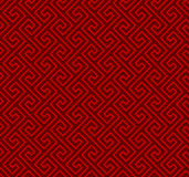 Seamless Chinese window tracery spiral line geometry pattern background. Seamless background image of vintage Chinese style window tracery spiral geometry line Royalty Free Stock Image