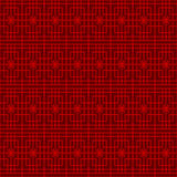 Seamless Chinese window tracery square flower pattern background. Stock Photography